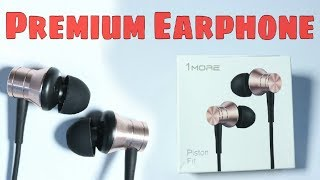 Unboxing & Review | Best Under 1000 INR ?? 1MORE Piston Fit earphone with MIC 🔥