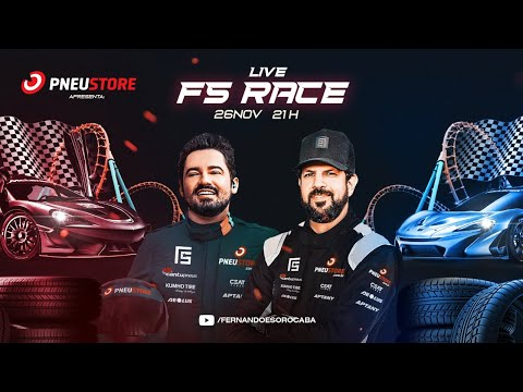Fernando & Sorocaba e Pneustore - Live FS Race  | 26/11 às 21h
