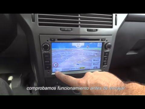 Opel astra H, Corsa, Zafira, Vectra C - instalación Pantalla Gps Xtrons  - Servitronic Torrent