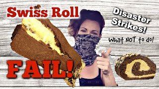 How to Make a Swiss Roll Cake~ Chocolate Roll Cake FAIL Part 1 by Gretchen's Bakery