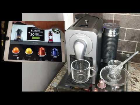 How to setup Nespresso Prodigio & Milk + Review