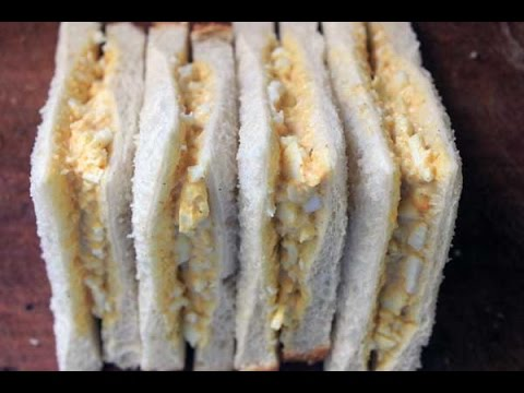 Curried Egg Sandwiches – RECIPE