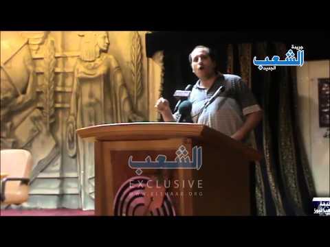 كلمة نارية من شقيق الصحفى المعتقل حسن القبانى