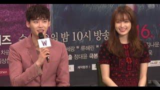 Video [풀영상] 이종석(Leejongsuk) Drama 'W' 제작발표회 (Leejongsuk·한효주)  [통통영상] MP3, 3GP, MP4, WEBM, AVI, FLV April 2018