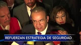 Refuerzan Seguridad en los estados de la República y Ciudad de México.