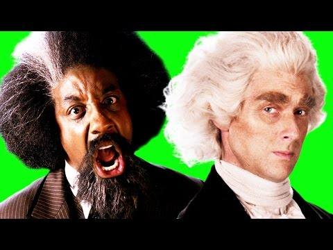 Video Frederick Douglass vs Thomas Jefferson.  Behind the Scenes of Epic Rap Battles of History download in MP3, 3GP, MP4, WEBM, AVI, FLV January 2017