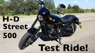 3. Harley-Davidson Street 500 Test Ride | The Gateway to H-D Ownership!
