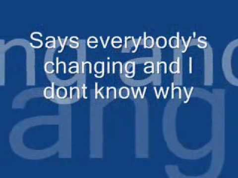 Everybody's - Lyrics to Keane's song