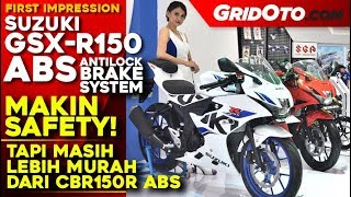 4. Suzuki GSX-R150 ABS 2018 l First Impression Review l GridOto