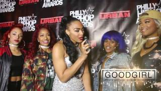 Philly Hip Hop Awards Official Red Carpet hosted by Ebony-Lavone