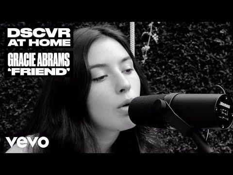 Gracie Abrams - Friend (Live) | Vevo DSCVR At Home видео