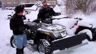 6. 2013 Arctic Cat ATV 500 4x4 EFI with Snow Plow