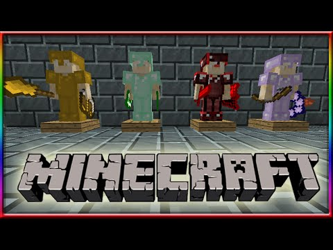 MINECRAFT 1.8 Sliding Armor Stands Of Power! Tips & Tricks!