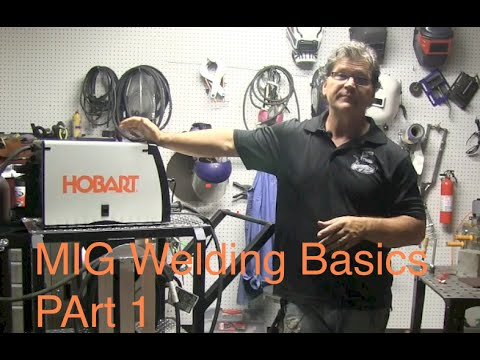 Basics - This is part 1 in a series on Mig Welding Basics aka How to mig weld. for a more detailed article on mig welding basics go to... http://www.weldingtipsandtri...