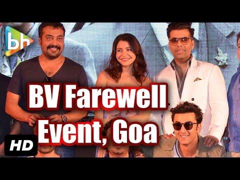 Bombay Velvet' Team At Fairwell Event In Goa