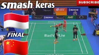 Video Tanpa Ampun!!! Final Indonesia VS China Badminton Asia Team Championship 2018 MP3, 3GP, MP4, WEBM, AVI, FLV April 2018