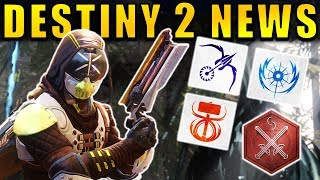 Showcasing the latest Destiny 2 News!Voidwalker Reveal → https://www.youtube.com/watch?v=j_LGFdVWLRMFirstly we got some new videos featuring brand new PvP gameplay, which took place on a new map at the Iron Temple!This gameplay also showed off several new Abilities and Weapons!We also got some new information about the potential for 3rd subclass at launch. These night be the TTK subclasses or something completely different!And we also have some advice for anyone getting Destiny 2 on the PC!Sources:Titan PvP Gameplay: https://www.youtube.com/watch?v=FQkyu24LPHQWarlock PvP Gameplay: https://www.youtube.com/watch?v=mWdX6PGczxoMap walkthrough: https://www.youtube.com/watch?v=Sxn4pIV41xQ--- Official Merch: https://shop.bbtv.com/collections/kackishd--- My Twitter: https://twitter.com/RickKackis--- My Twitch Channel: http://www.twitch.tv/kackishd/profile