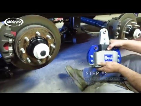 SRE4000 Suspension System Installation