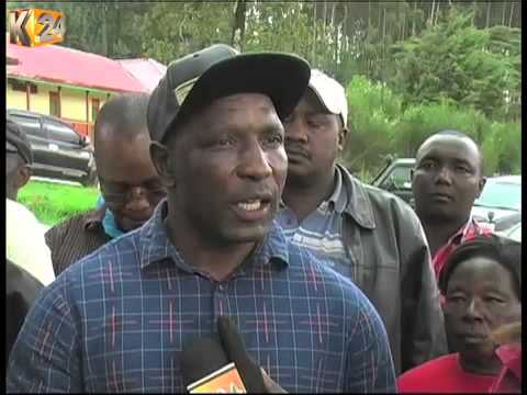 Residents protest rampant logging in Kiptunga forest