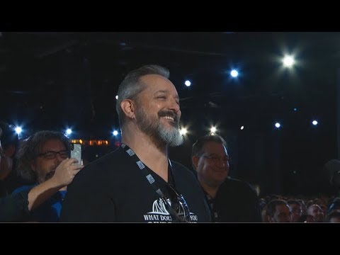 Chris Metzen at BlizzCon 2018