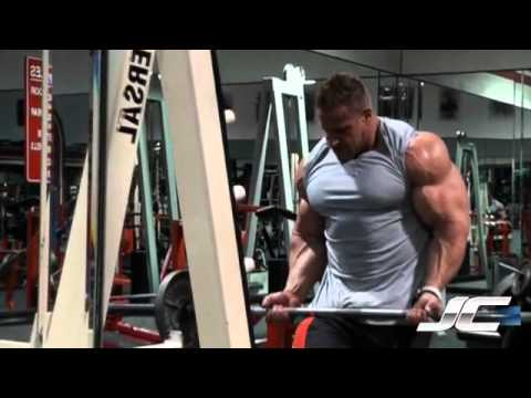 BICEPS - Jay trains biceps to prepare for the upcoming Olympia 2011.