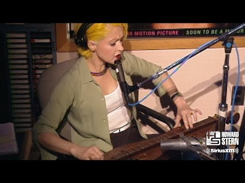 "Cyndi Lauper ""Time After Time"" Live on the Howard Stern Show (1995)"
