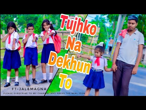 Tujhko Na Dekhun To Ji Ghabrata | Jaanwar Songs HD | Akshay Kumar | Udit Narayan | Love &Story