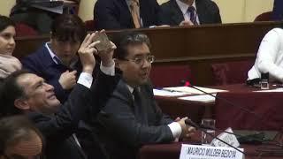 Contralor expone en comisión de Fiscalización y Contraloría. 18/10/2017