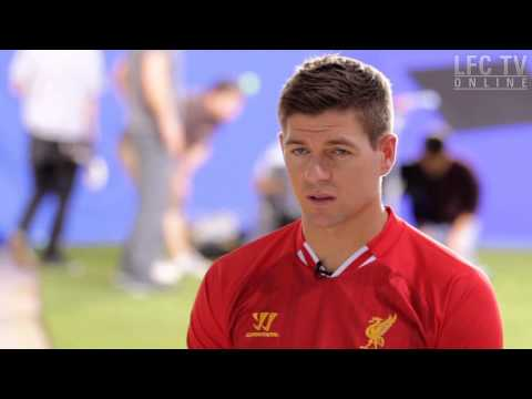 Behind The Scenes With Steven Gerrard At Xbox One Shoot