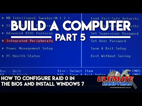 RAID 0 - http://www.ultimatehandyman.co.uk/forum1/ brings you how to configure the bios for a raid 0 configuration with a gigabyte motherboard, it also shows how to i...