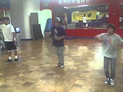 Footklan dancing to Transform Ya 2010