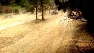 150cc ASW FOX ZIRCON at Wildcat Trails off-road park