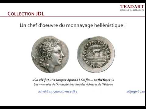 Les Éditions Tradart -  Collection JDL, N°22 - Tétradrachme de Mithridate VI le Grand, roi du Pont, 120-63 AEC.