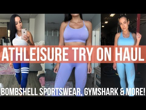 CUTE  AFFORDABLE ATHLEISURE CLOTHING HAUL! Ft. Gymshark, Ptula  More