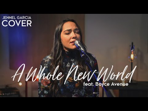 "Alan Menken  ""A Whole New World"" Cover by Jennel Garcia"