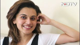 Taapsee Pannu On Her Glam Look in 'Judwaa 2' And More