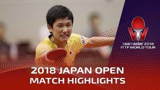 Video Zhang Jike vs Tomokazu Harimoto | 2018 Japan Open Highlights (Final) MP3, 3GP, MP4, WEBM, AVI, FLV September 2018