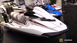 7. 2016 Yamaha FX Cruiser SHO Jet Ski - Walkaround - 2016 Toronto Boat Show