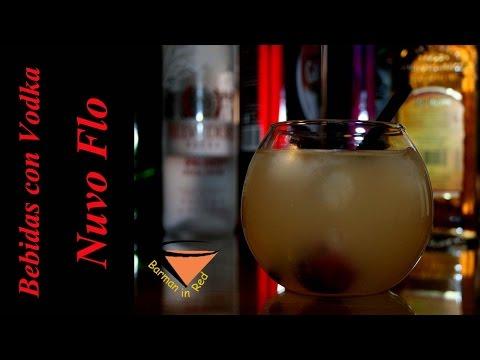 cómo preparar un cóctel con vodka Nuvo - NUVO FLO