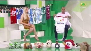 Após o revés do Inter no último sábado (22) para o Vila Nova, Denilson brinca com Renata Fan e aumenta o varal do Jogo Aberto.