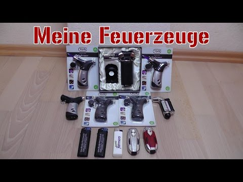 Meine Gasbrenner & Feuerzeuge | Vorstellung + Test [1080p Full HD]