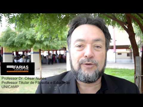 Professor César Nunes da UNICAMP em Brejo Santo