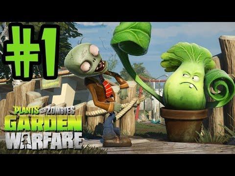 Plants VS Zombies Garden Warfare Gameplay – Gardens & Graveyards – #1 Zombie All-Star Xbox One
