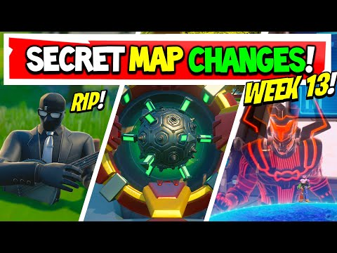 Fortnite | All Season 4 SECRET MAP CHANGES v14.60 | GALACTUS EVENT! Week 13 (Xbox, PS5, PC, Mobile)