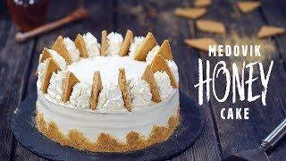 Medovik - Honey Cake