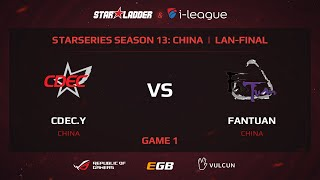 CDEC.Y vs FanTuan, game 1