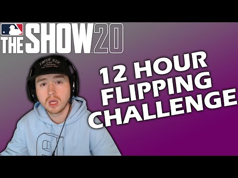 Flipping for 12 HOURS STRAIGHT in MLB The Show 20??
