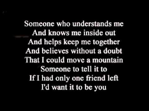 Dan Seals - One Friend ( + lyrics 1984)
