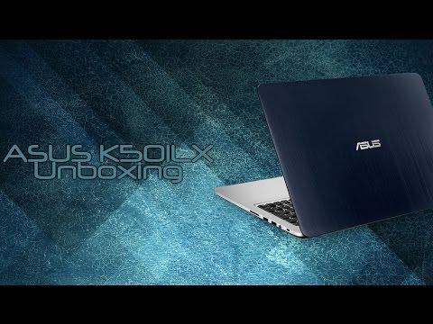 ASUS K501LX unboxing / kicsomagolás