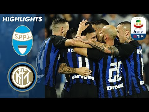 SPAL 1-2 Inter Milan | Two Mauro Icardi Goals Lead Inter Milan To Victory | Serie A